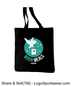 100% Recycled Cotton Everyday Tote Design Zoom